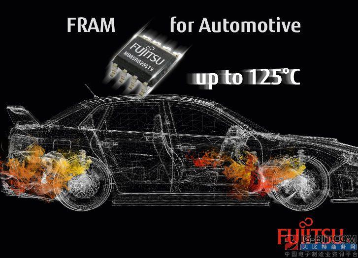 富士通针对车载电子和工业控制系统推出全新FRAM存储解决方案