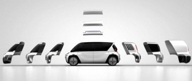 OSVehicle设计的模块化无人驾驶汽车