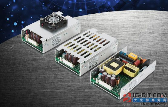 "XP Power推出超薄3""x5"" U型外壳225 W电源产品"