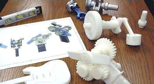 图为3D打印产品
