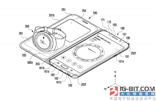 三星获新专利 用手机壳为手表无线充电
