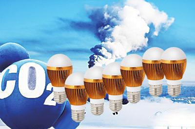 全球5%温室气体排放由照明产生 LED产业创新求变