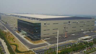 全球最高世代液晶面板生产线开始调试