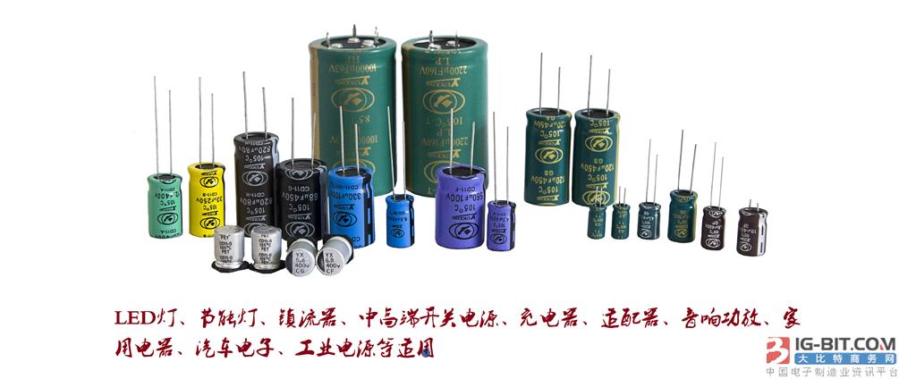 云星电解电容产品
