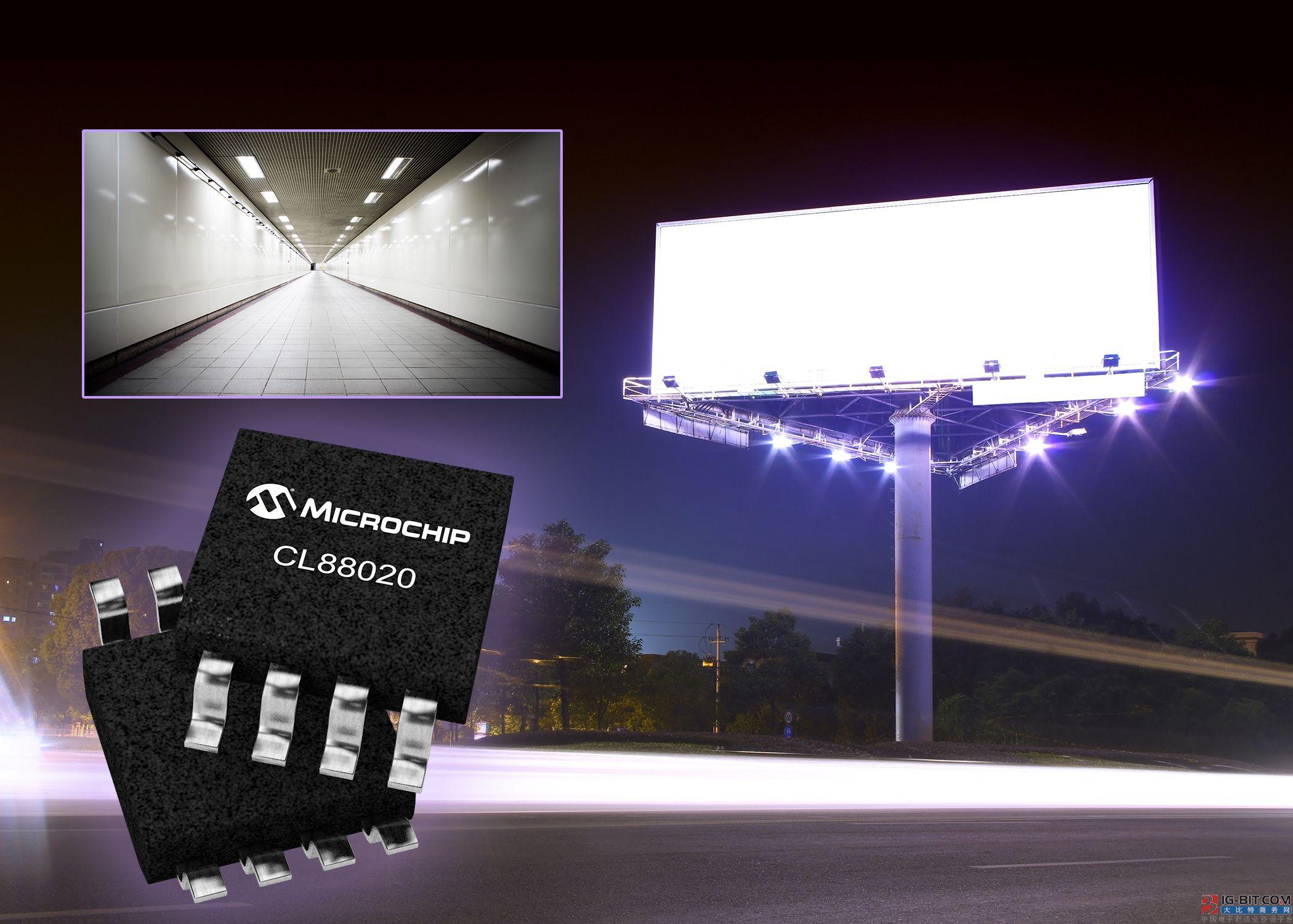 采用Microchip的连续线性LED驱动器, 开发更可靠且经济高效的LED照明应用