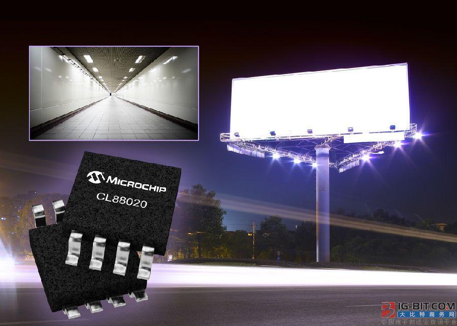 采用Microchip的连续线性LED驱动器 LED照明更可靠高效更高