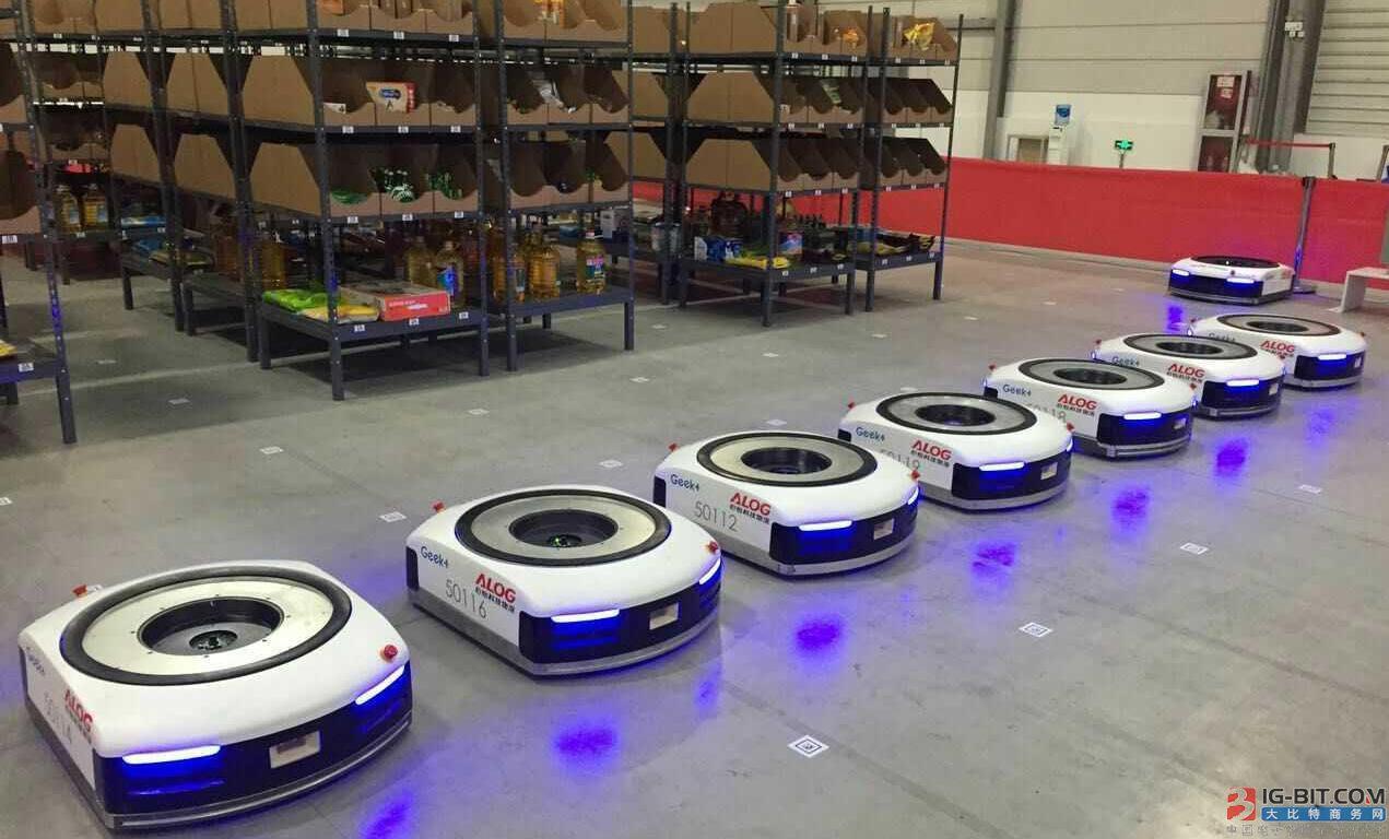 """物流仓储机器人企业频获资本青睐 进入""""烧钱""""节奏"""
