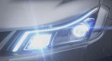 采用倒装技术,丰田合成发布首款车头灯LED
