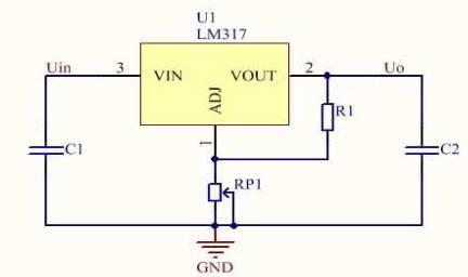 lm317的扩流电路; ◆lm317的高压输出电路; ◆lm317的恒流电路