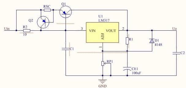 七,lm317的扩流电路