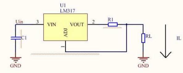 九,lm317的恒流电路