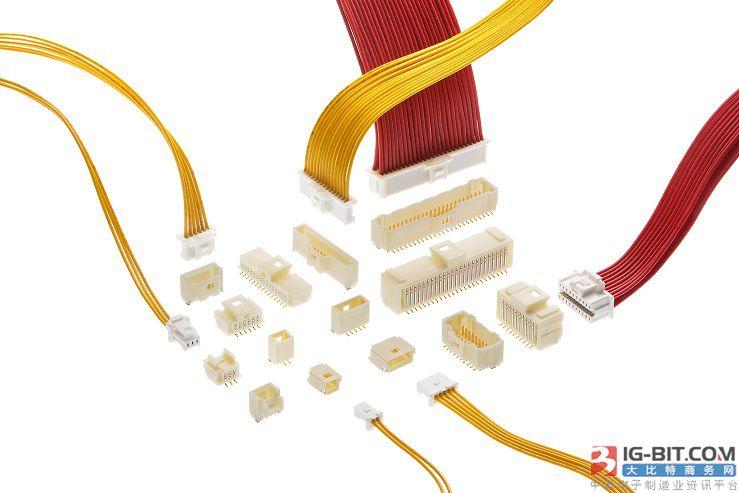 Molex推出单排镀金Pico-Clasp线对板连接器