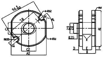 高饱和磁通密度NiZn铁氧体材料TN35B