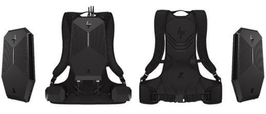 惠普推新款VR背包电脑 桌面和移动都能用