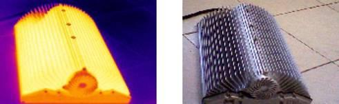 L E D 灯 具 散 热 器 检 测