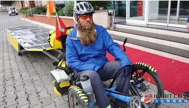 """瑞士光伏骑士的""""一带一路""""长征:已经行进8000公里!"""