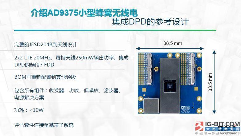 adi发布新无线电收发器,可为小型蜂窝和大规模mimo节省功耗与成本