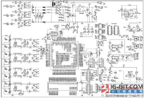 msp430f47197电表电路图
