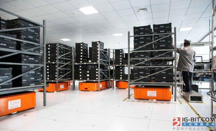 海康威视智能仓储系统有多牛?
