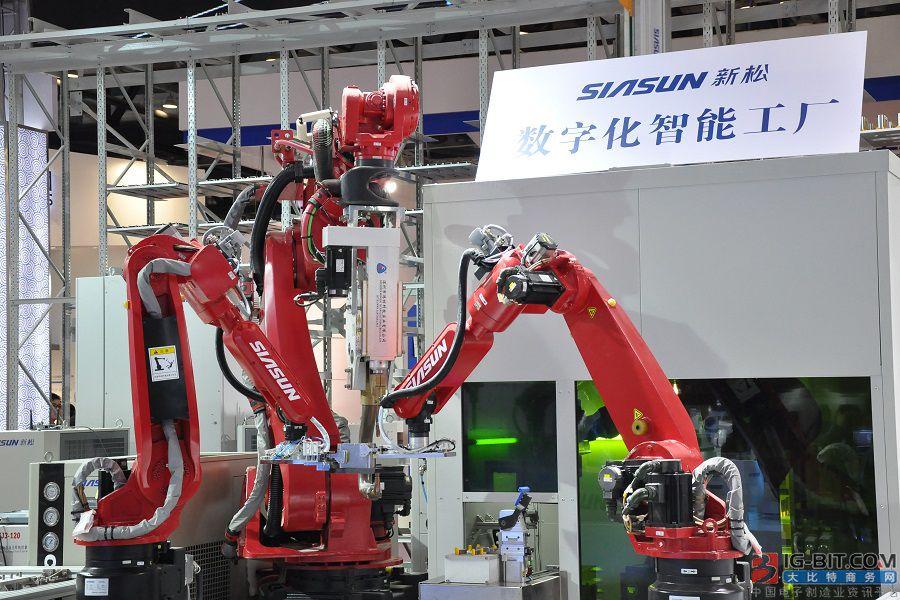 新松机器人半年报:总营收10亿 工业机器人成大头