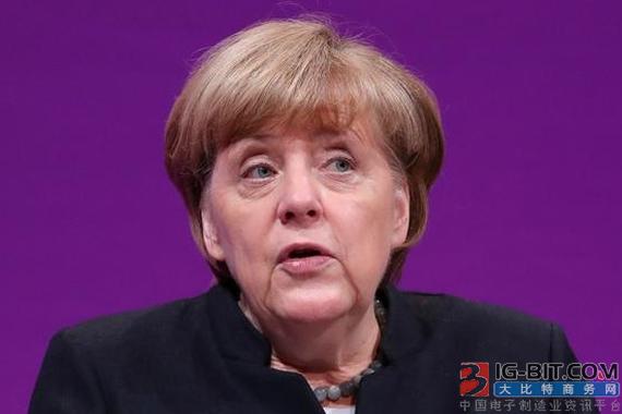 默克尔首次承认德国也将禁售汽油、柴油车