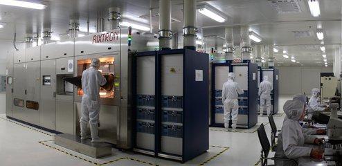 华灿光电:义乌厂一期有部分设备已开始生产 二期项目第三年开建