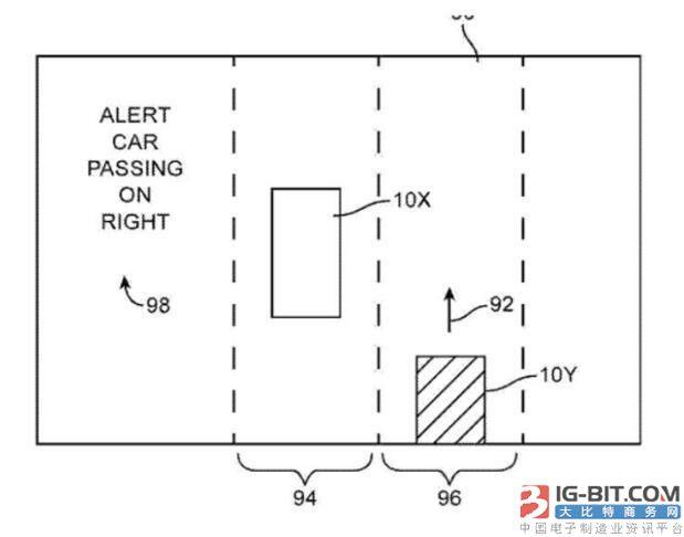 单个汽车雷达电路图