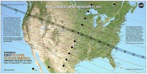 日全食期间,美国的光伏发电受到了怎样的影响?