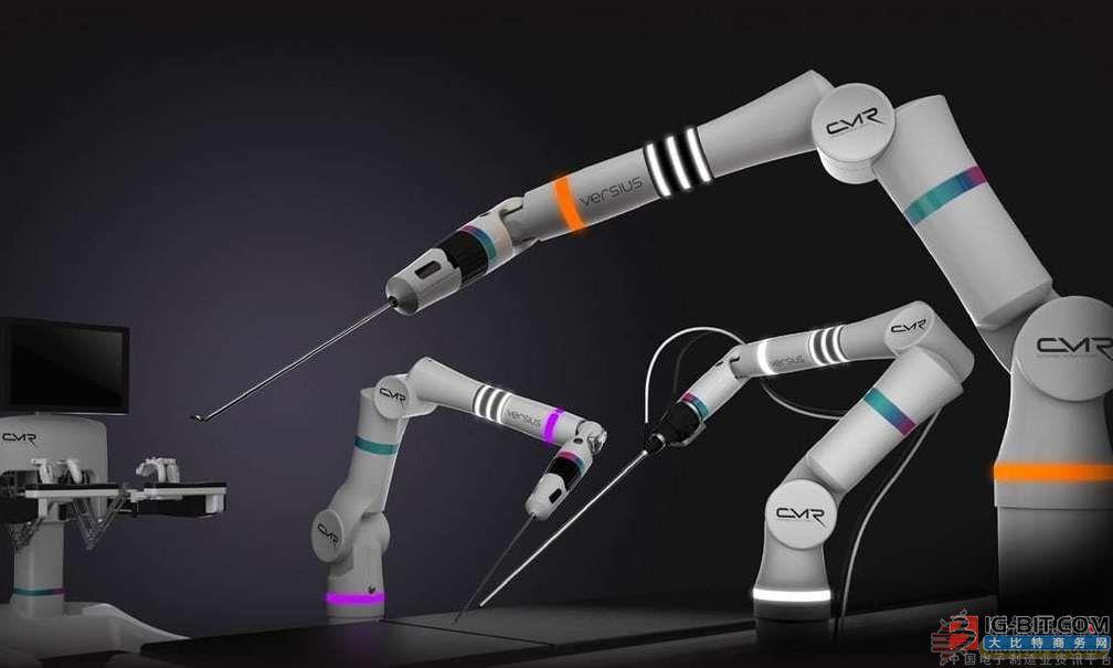 世界上最小的手术机器人 每天手术上千上万例