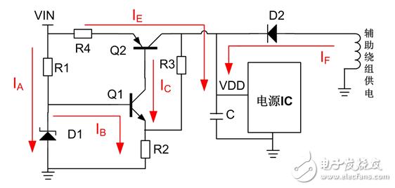 图2 标准启动电路