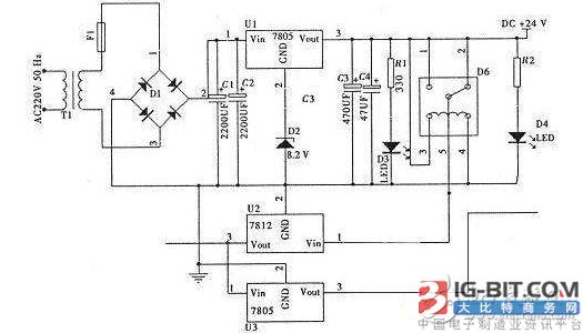 【技术】无线充电稳压电路图