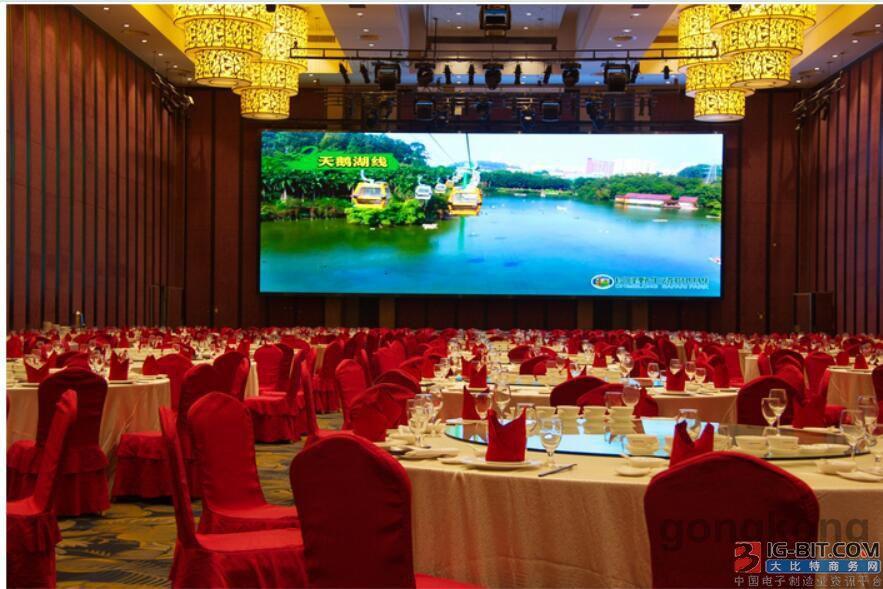 台达携手长隆打造全新力作 超大宴会厅LED巨幕落户广州