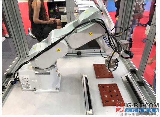 爱普生紧凑型六轴机器人C4-A601S/RC700
