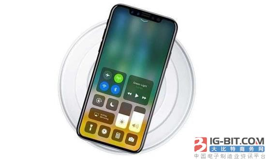无线充电首次出现在iPhone中