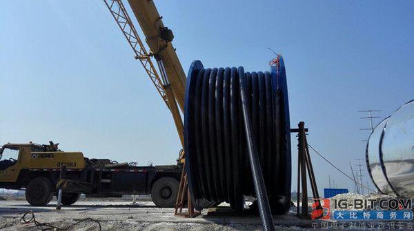 远东智慧能源聚力奋进清洁能源市场 高压电缆服务光伏项目