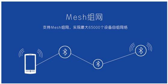 蓝牙mesh无线连接助攻照明产业