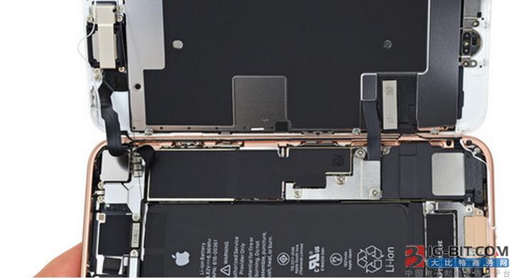 拆解iPhone 8:无线充电版本的iPhone 7?【图】