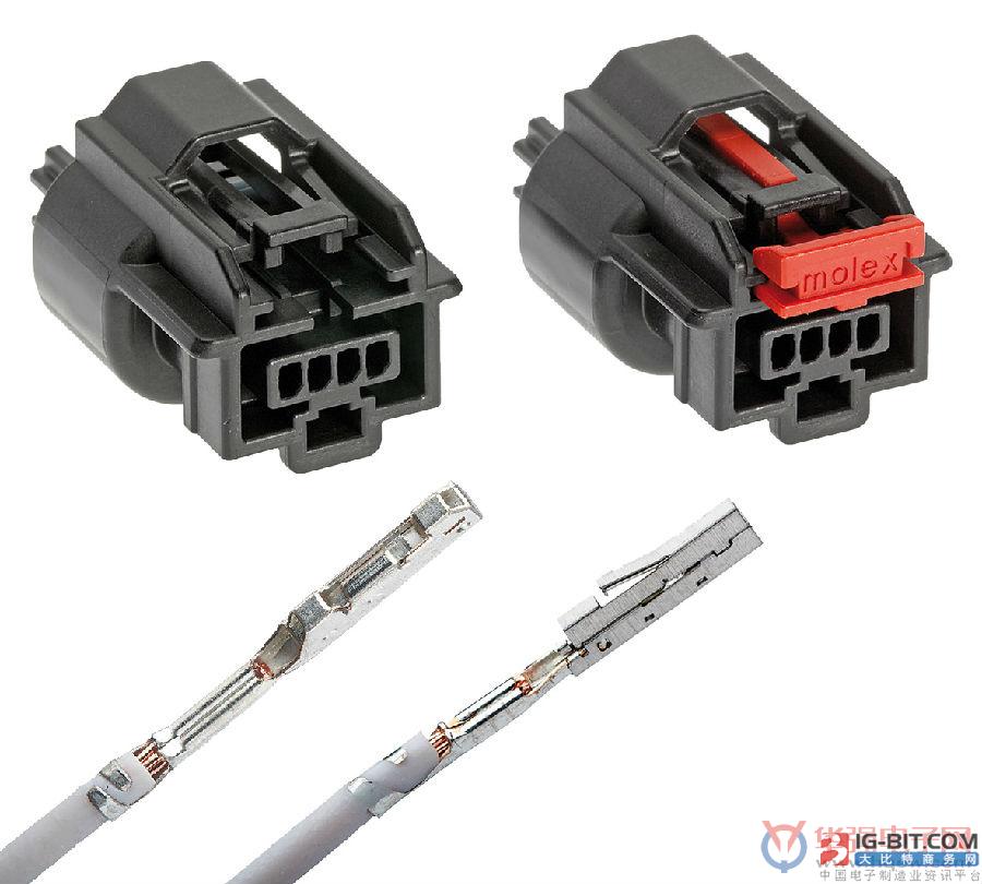 Molex Mini50紧凑型密封镀层连接器面世