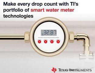 TI单芯片超音波感测微控制器提高智能水表精准度