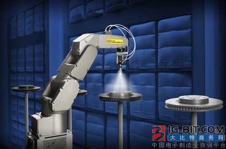 宁波六轴机器人首次出口美国