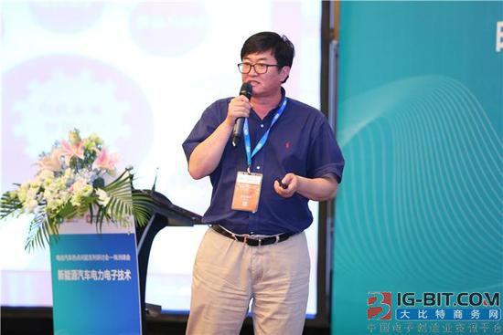 精进电动创始人蔡蔚:电机和电力电子相关技术