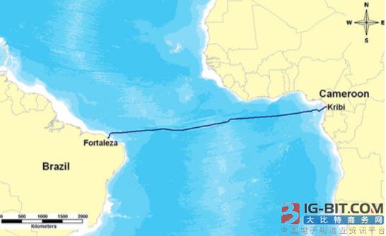 中国联通参建首条直连非洲-南美洲海底光缆