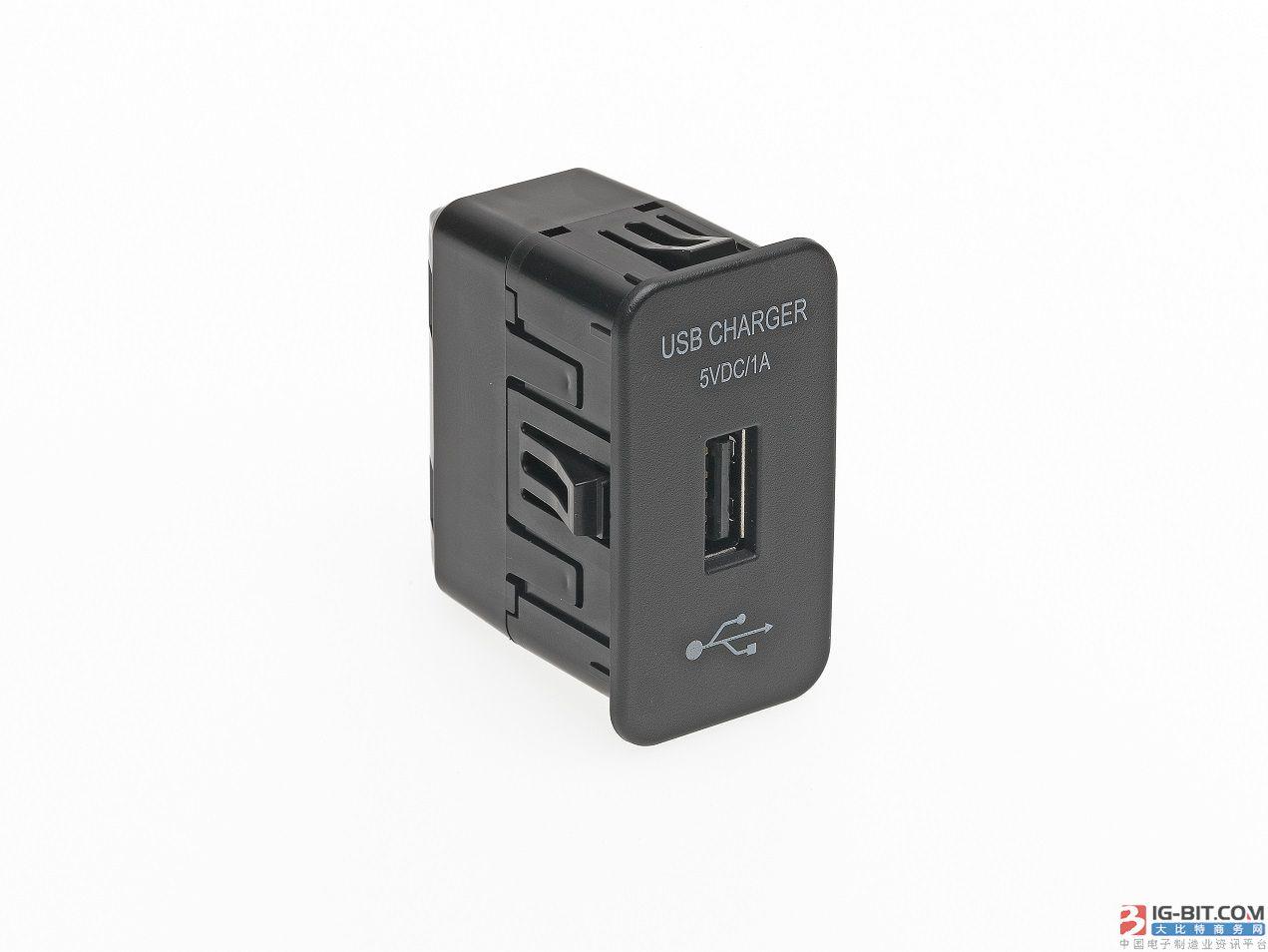 Molex 发布 USB 智能模块,提升车内连接功能
