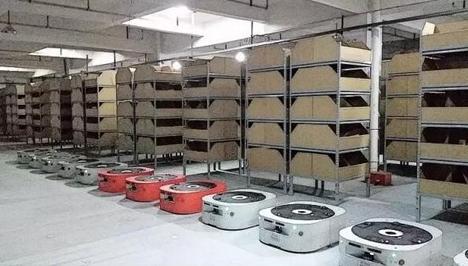 菜鸟网络机器人仓升级推广 物流仓储智能化提速