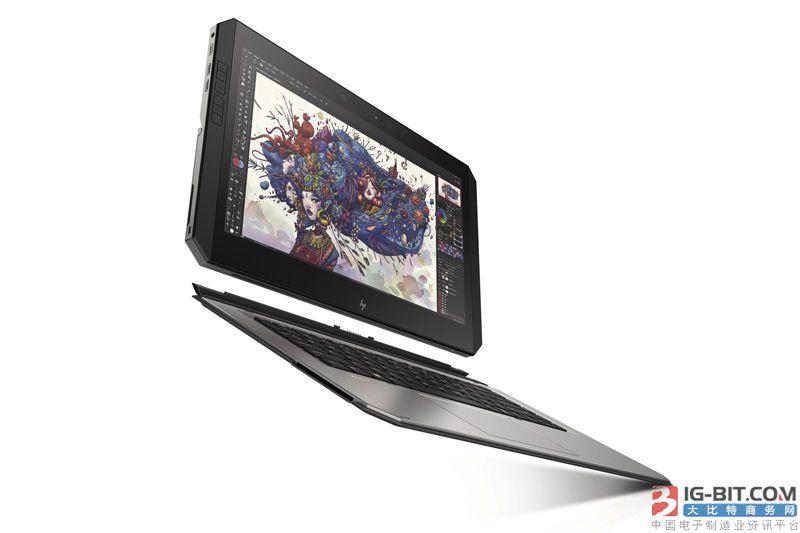 惠普发布世界最强可拆卸式移动工作站ZBook x2