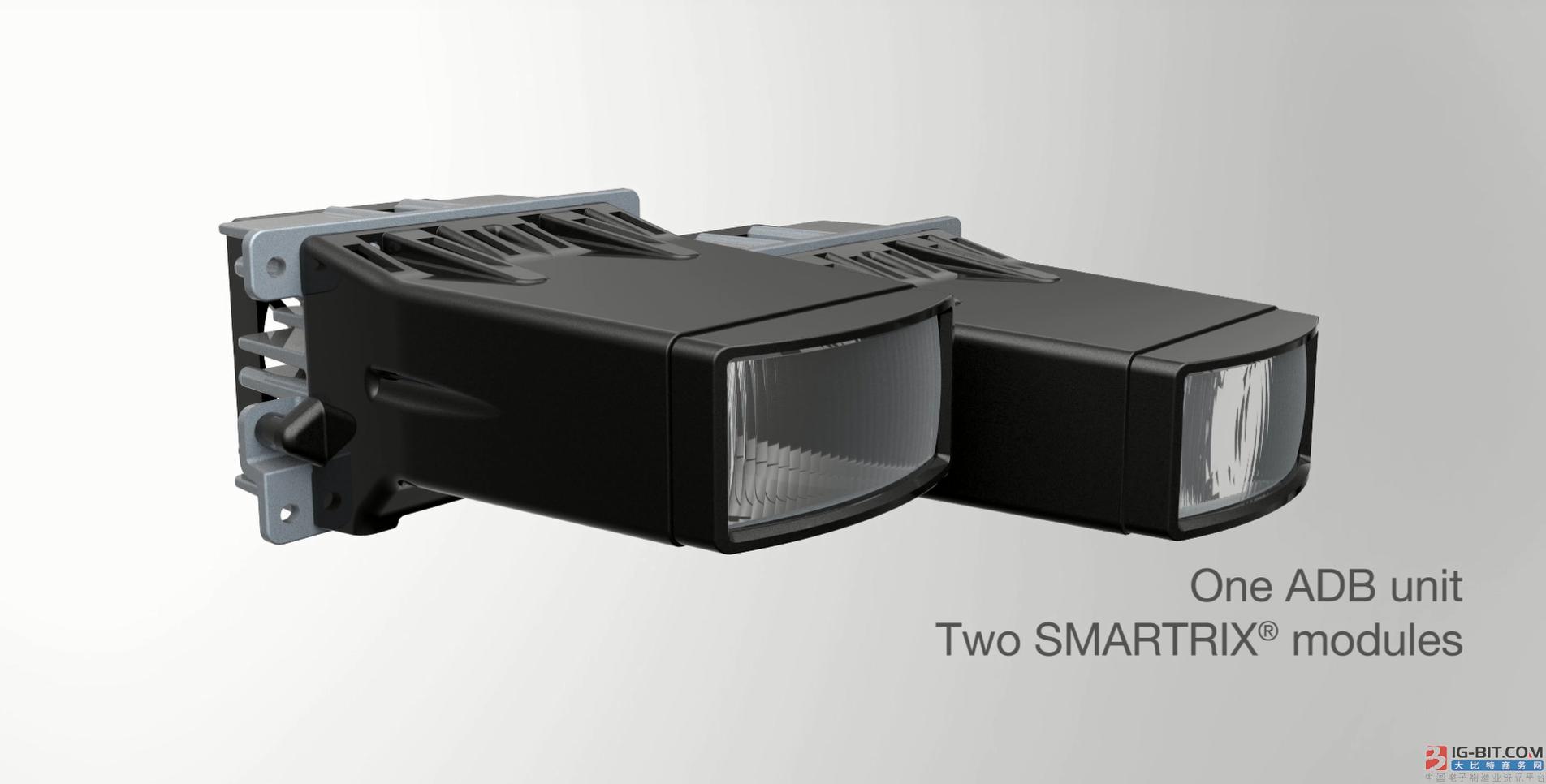 欧司朗全新Compact ADB(Adaptive Driving Beam)车辆照明系统 吹响道路安全集结号