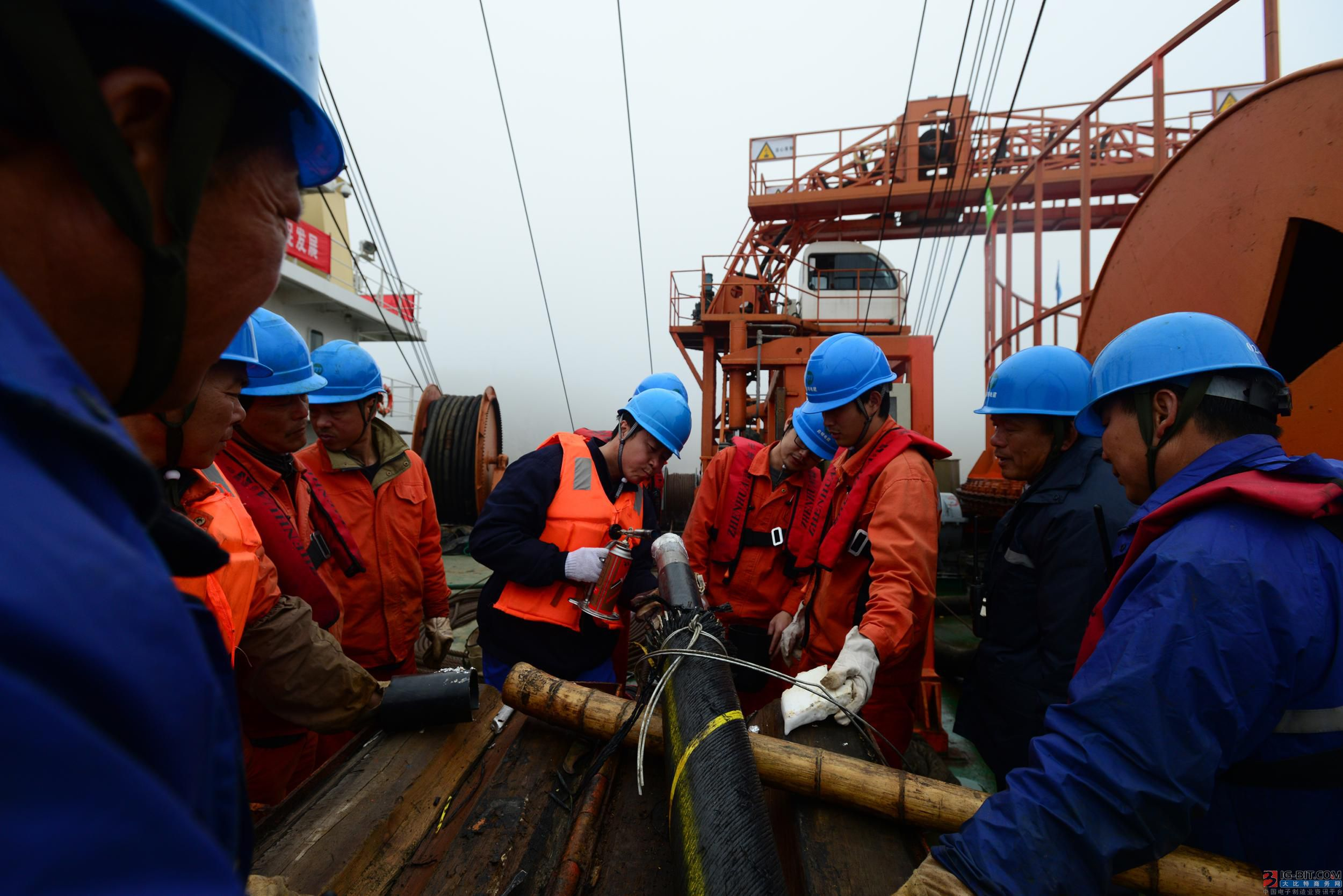 华为签约建设与建成4万公里海缆