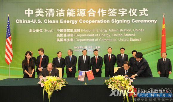 中美开展能源合作是必然选择