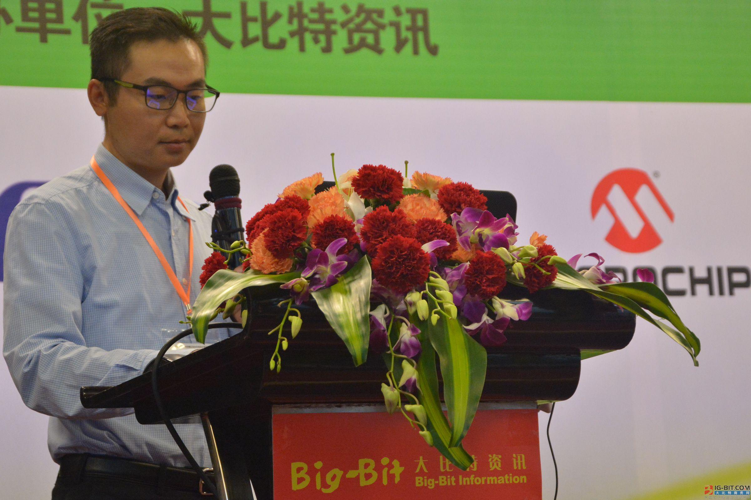 Silicon Labs南中国销售经理刘俊