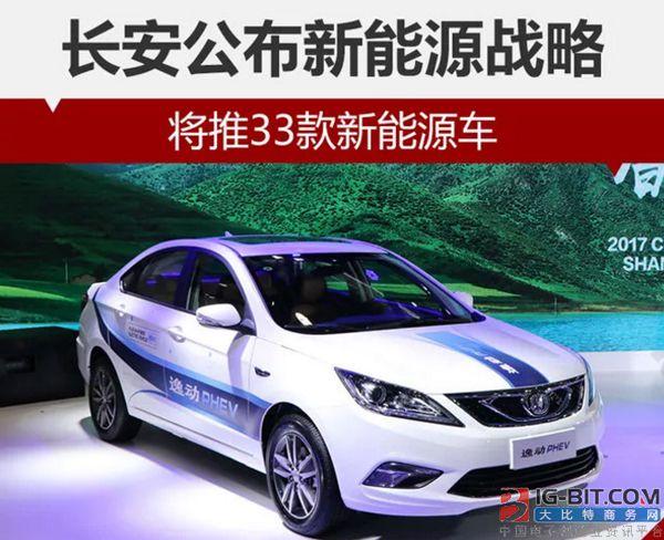 2025年全面停售燃油车 投资1000亿 长安发布新能源战略